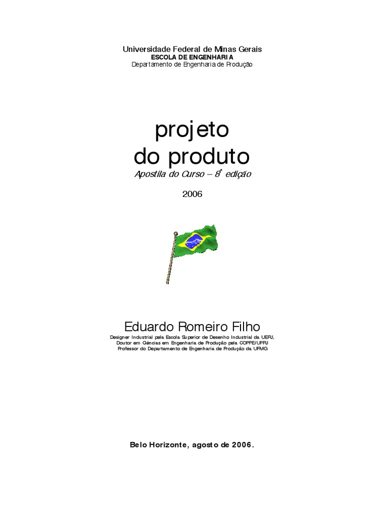 5bfca073f20 Projeto do Produto
