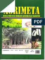 Jurnal Agrimeta Vol.4 No.8
