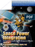 Space Power Integration - Perspectives of Space Weapons Officers