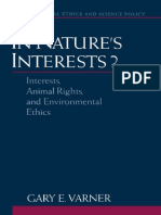 Gary E. Varner-In Nature's Interests__ Interests, Animal Rights, And Environmental Ethics (Environmental Ethics and Science Policy Series) (2002)