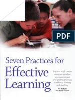 7 Practice for Effective Learning