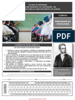 Inst Machadode Assis 133 Prova de Professor de Sociologia