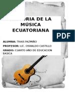Historia de La Música Ecuatoriana