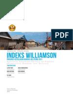 Indeks Williamson dalam Perhitungan Kesenjangan Ekonomi