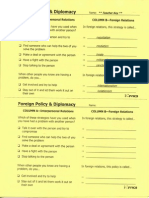 foreign policy answers