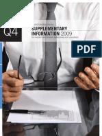 4q09 Supplementary Information