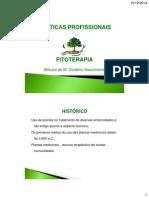 Aula i - Fitoterapia