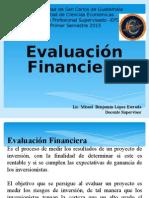 2 Evaluación Financiera 1 2015 Lic Misael López e