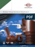 RITZ MediumVoltageInstrumentTransformers Standard Rev Feb 2011