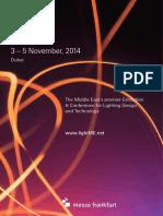 Light Middle East 2014 _ Brochure