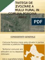Strategii de Dezvoltare a Turismului Rural in Comuna Poroina Mare Ginu