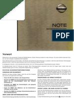Betriebsanleitung Note