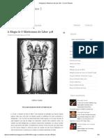 A Magia & O Misticismo de Liber 418 _ Círculo Tifoniano