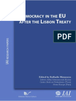 [Raffaello Matarazzo]Democracy in the EU After the Lisbon Treaty
