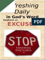 Excuses June 2015