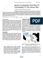 Distribution Species Composition and Size of Flying Fish Exocoetidae in the Ceram Sea