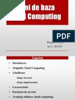 Notiuni de baza cloud computin