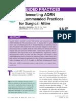 Aorn Attire