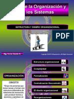 Estructura y Diseño de La Org