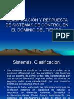 3 Clasificación de Sistemas de Control