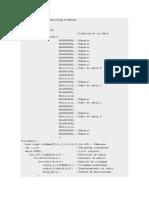 Código. Tester de Redes
