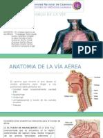 EVALUACIÓN Y MANEJO DE LA VÍA AÉREA.pptx
