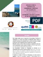 Análisis de Cómo El Desarrollo de Comunidades Turísticas de Talasoplaya en El Litoral de Marquelia