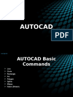 AUTOCAD COMMANDS USING GUIDE