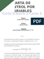 Minitab Cartas de Control - Ernesto