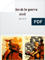 Carteles de La Guerra Civil