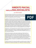 DROSS Walter - El Pensamiento Racial NS