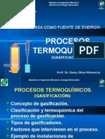 Presentación 5 Clase Gasificacion Maestría Energia Renovable