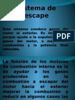 Sistema de Escape Motores