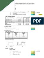 Mold Design Fundamental Calculation BATTERY COVER