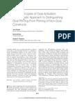 7 Principles of goal-based priming