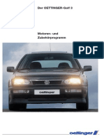 Der Oettinger Golf3
