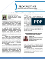 7 Edição - Jornal ProArquivos