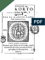 Gramáticas - 1614 - Bartolomé Ximénez Patón - Epítome de La Ortografía Latina y Castellana