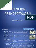 Atencion Prehospitalaria