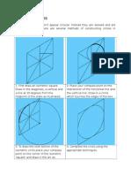 Isometric Circles Ellipces