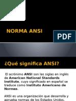 Norma Ansi