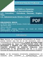 Ponto 02 - Administração Pública Alunos