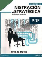 1. Administración estratégica - Fred