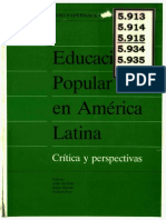 Ed Popular en America Latina_ Criticas y Perspectivas