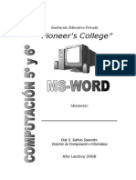Computacion primaria 5 y 6 GP