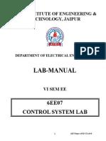 Lab Manual 6EE7 Cs