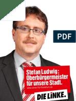 Personenplakat Stefan Ludwig OB-Wahlkampf 2010