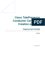 TelePresence Conductor Certificate Deployment Guide XC3 0
