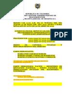 GUÍA AUD INICIAL SIMULTÁNEA CON FALLO SANCIÓN MORATORIA - 707-2014-00012-00015-00017.doc
