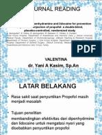 Journal Reading Valent